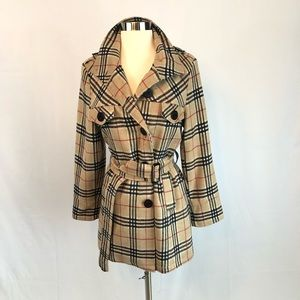 Burberry Soft Trench Coat Size S